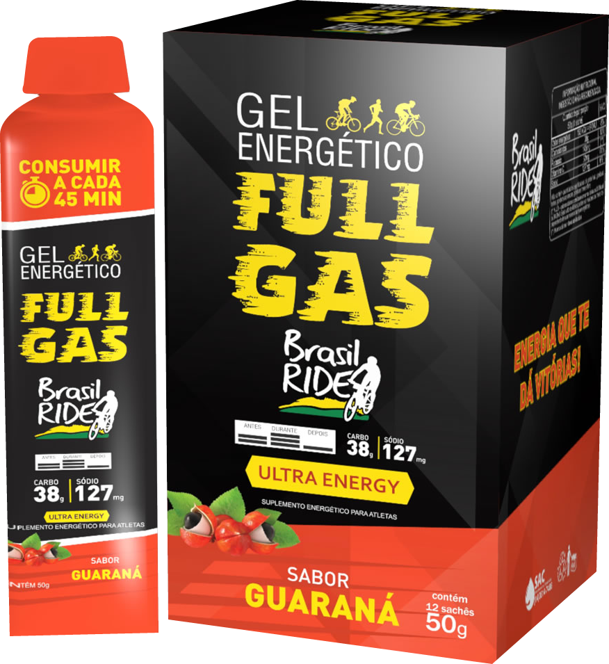Gel Energético Ultra Energy Guaraná